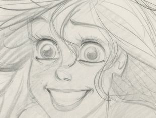 The work of Glen Keane is on display at the Walt Disney Family Museum