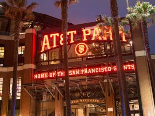 A night at Oracle Park