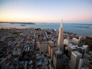 San Francisco Skyline with Transamerica Building