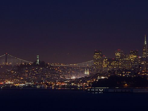 San Francisco from Marin Headlands