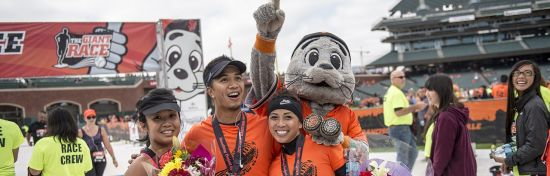 The Giant Race Run/Walk Series provides runners and walkers the opportunity to finish distances from a 5K to Half Marathon on the same home field as their favorite players.